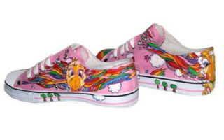 Rainbow Sky Shoes