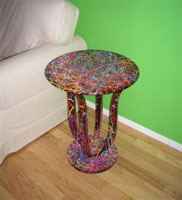 Splatter Table